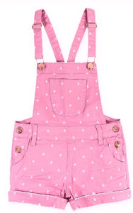 Kandy's Pink Overalls
