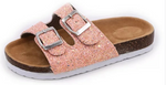 Load image into Gallery viewer, Pink Chelly Slides - Kiley Bee Children's Boutique