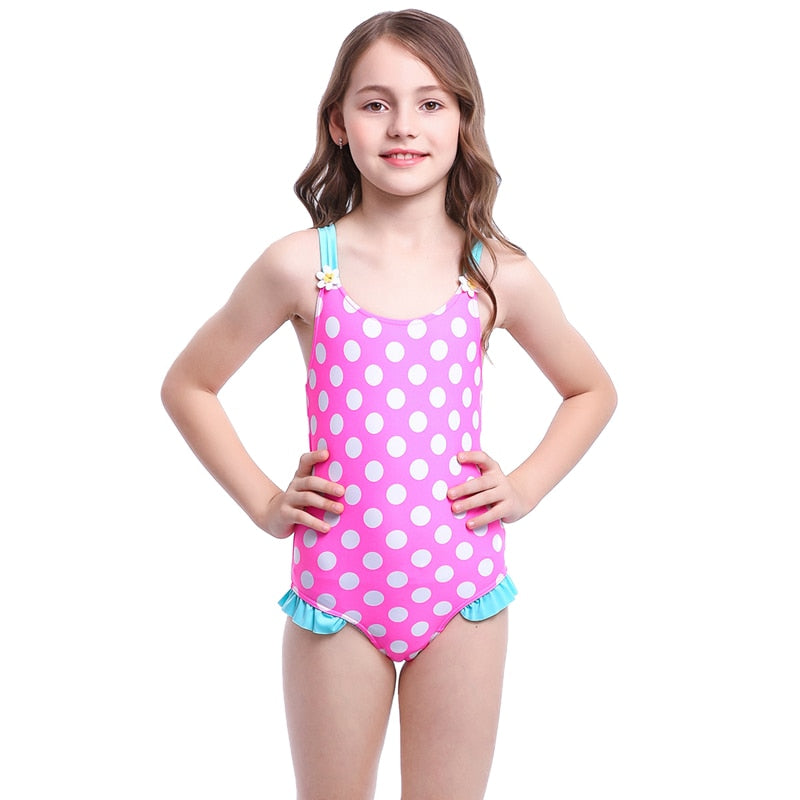 Cute Child Girls Swimwear