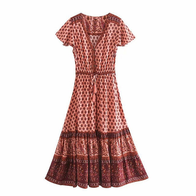 midi dress for women