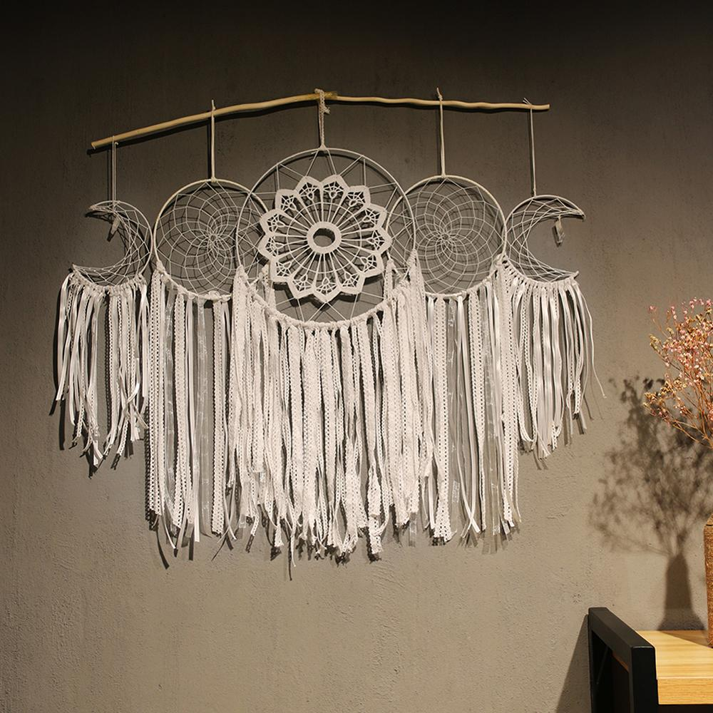 nordic white dream catcher