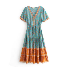 Summer Ladies Long Dress Gypsy