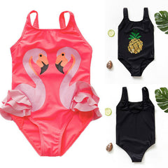Toddler Baby Kids Girl Lovely Swimwear One-Piece Suits