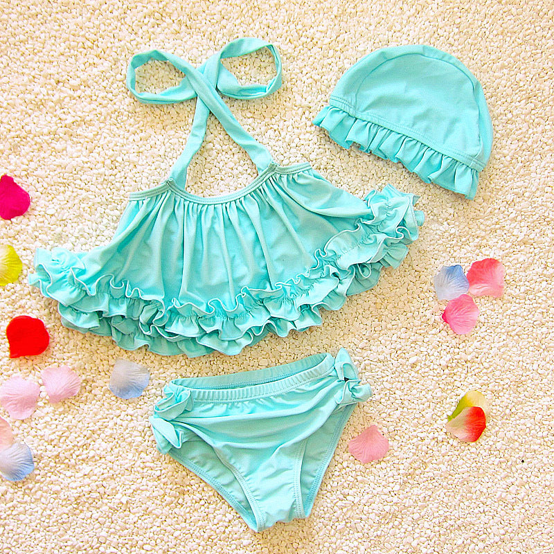 Lovely Swimsuits Set Girls