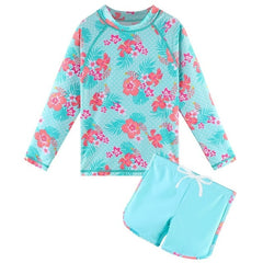 BAOHULU Long Sleeve Swimwear for Kids