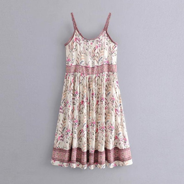 Boho Chic Dress Women Hippie Dress 2020 Summer