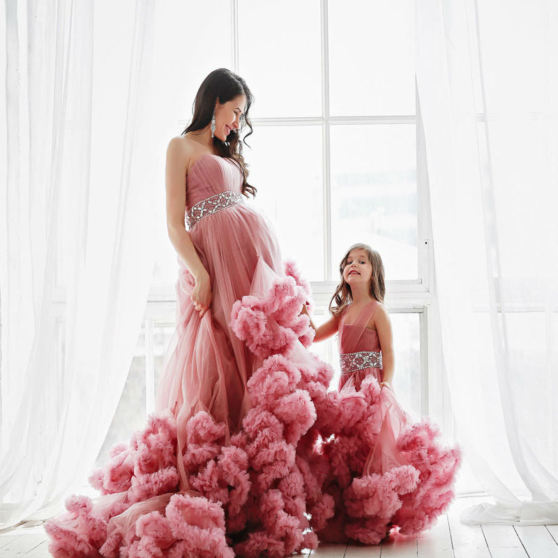 Mother Daughter Dresses for Wedding Party