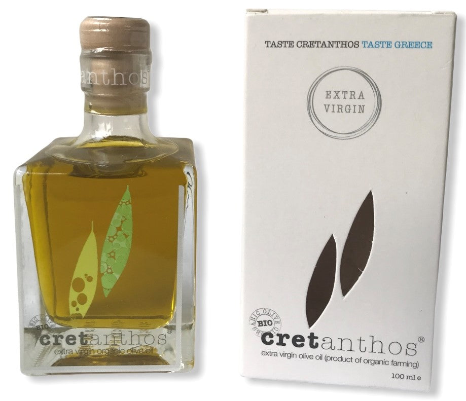 Olivenolie, 100 mL, ØKO Extra Virgin, Kreta