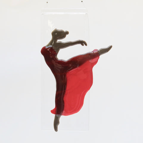 Modern dancer - red dress