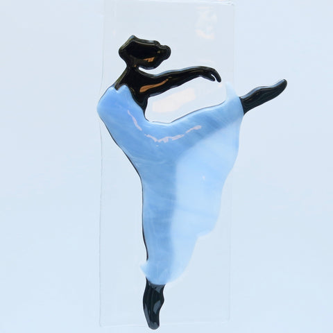 Modern dancer - blue dress
