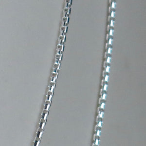 Sterling Silver Box Chains