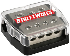 MTX StreetWires DBX3448 Distribution Block - 3x 4AWG In/4x 8AWG Out
