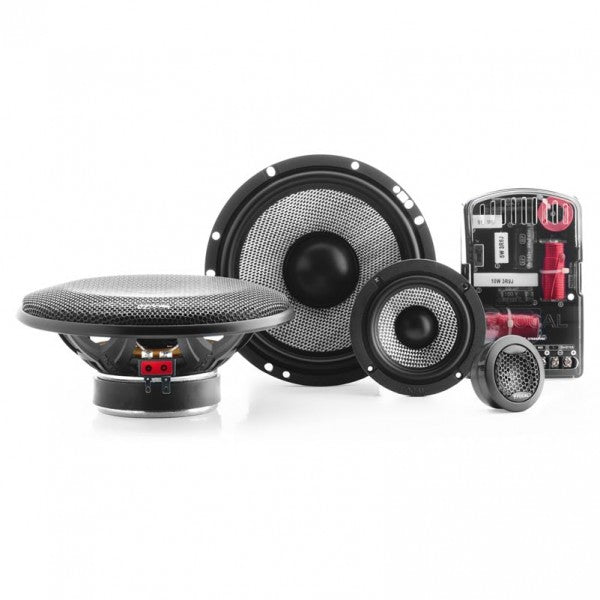 "Focal 165 AS3 - 6.5"" 3-Way Component Set"