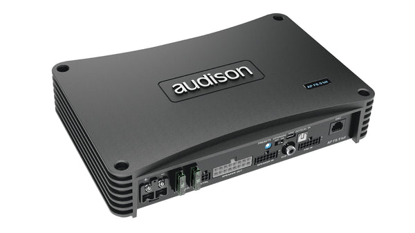 Audison - AP F8.9Bit - 8 Channel  High Powered Amplifier with 9 Channel Processor