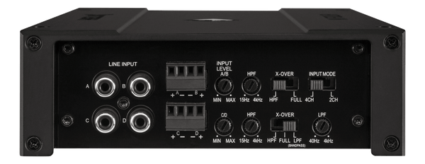 Helix - M-Four - Small Footprint 4 Channel Amplifier Integrated Crossover
