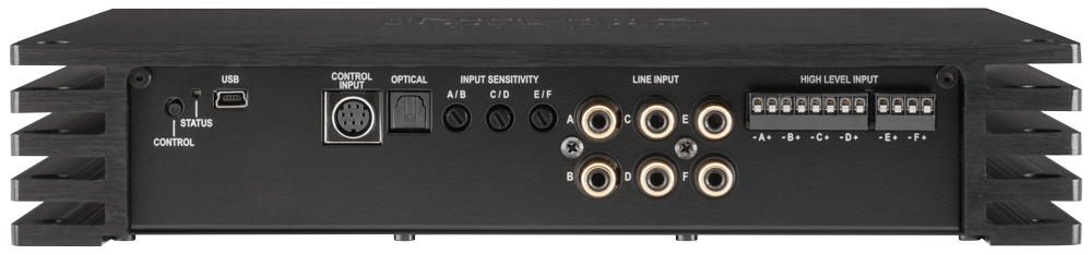 Helix P Six Dsp 6 Channel Amplifier With Integrated Digital 8 Channel Processor