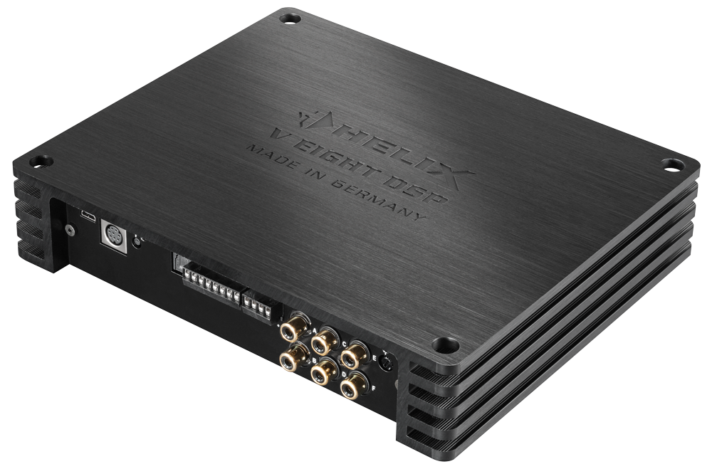 Helix V Eight Dsp 8 Channel Amplifier With Digital 10 Channel Processor