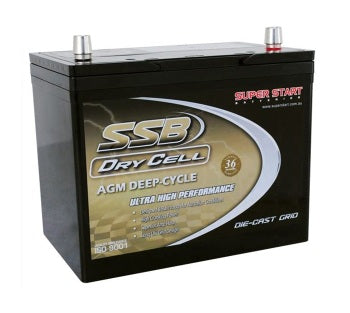 SSB Drycell HVT-70LD - AGM Battery