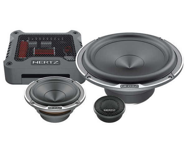 "Hertz MPK163.3 - Mille Pro 6.5"" 3-way Component Speakers"