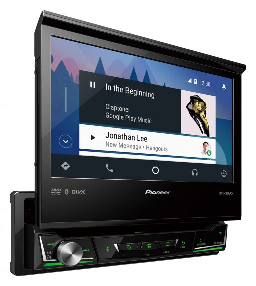 "Pioneer AVH-Z7150BT - 7"" Single-Din Multimedia Player With Apple CarPlay & Android Auto"