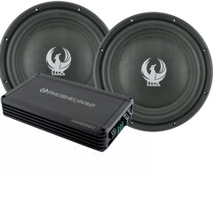 PhoenixGold MX 10″ Dual Subwoofer Amplifier Pack