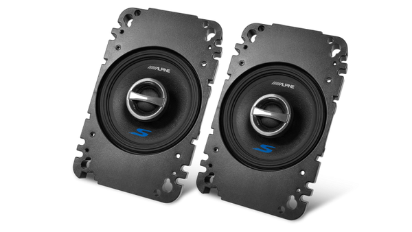 "Alpine S-S40 - 4"" S-Series Coaxial Speakers"