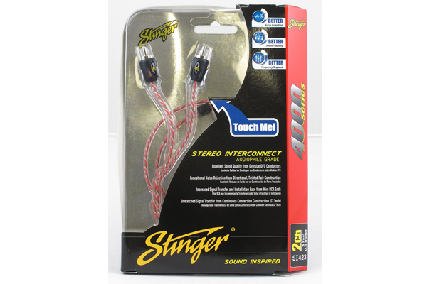 Stinger USA 4000 Series 0.9m RCA Cable