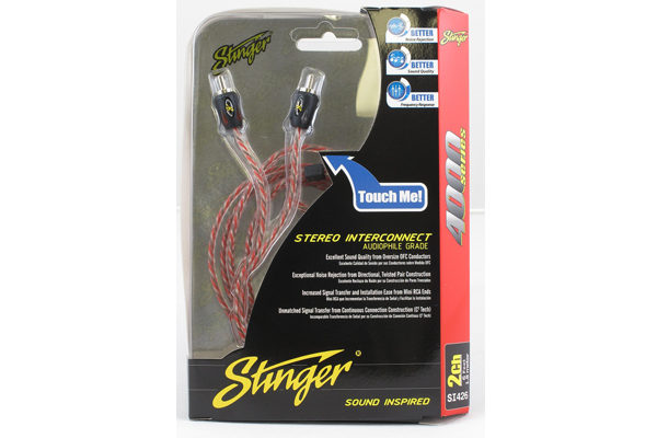 Stinger USA 4000 Series 1.8m RCA Cable