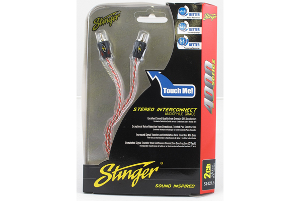 Stinger USA 4000 Series 0.5m RCA Cable
