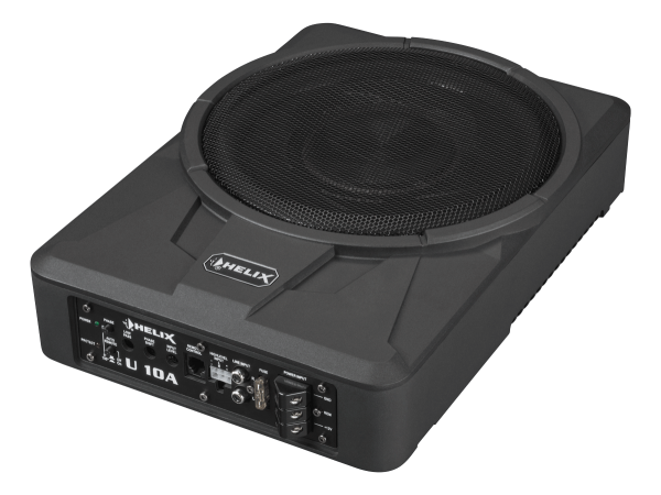 "Helix U10A - 10"" Underseat Active Subwoofer *NEW*"