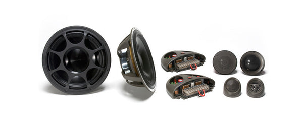 "Morel Elate Ti 603 - 6.5"" High End 3-Way Component Speakers"