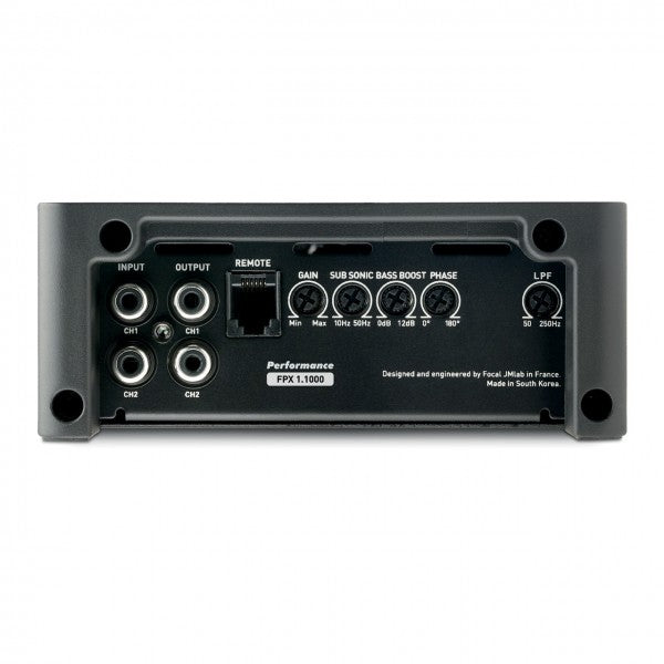 Focal FPX 1.1000 - Monoblock Amplifier
