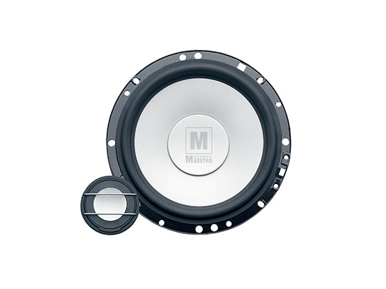 "German Maestro MS6.2 Active - M-Line 6.5"" 2-Way Component Speaker"