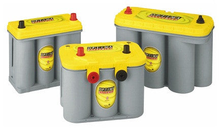 Optima Yellow Top AGM Car Battery D34