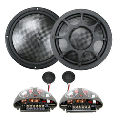 "Morel Virtus Nano CARBON 6"" 2-way Premium Component Speakers"