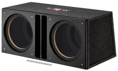 "MTX Audio Sledgehammer Dual Custom 12"" Enclosure - SLH12x2U"