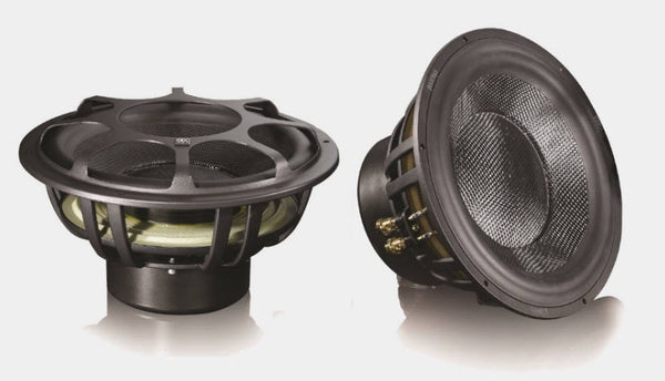 "Morel ULTIMO Ti SC124 - 12"" 600 RMS 4 Ohm High-End Subwoofer"