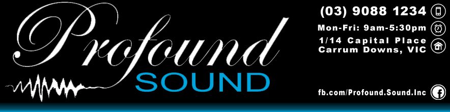 Profound Sound Ltd  -  Melbourne Car Audio