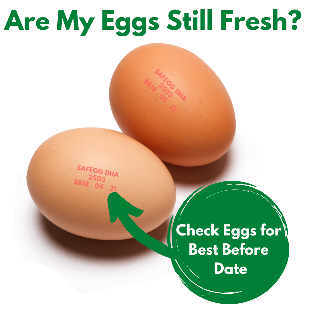 Check Eggs for Best Before Date