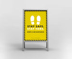A Boards - Stay Safe Stay Here