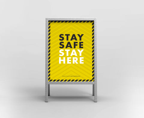 A Boards - Stay Safe Stay Here 2