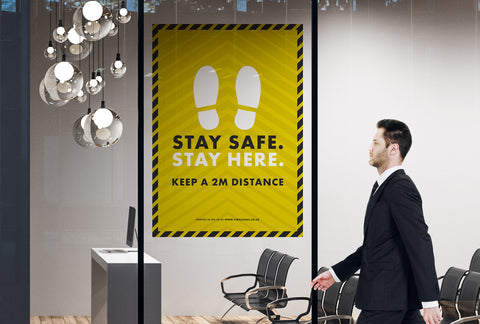Posters - Stay Safe Stay Here