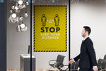 Posters - Stop Keep Your Distance