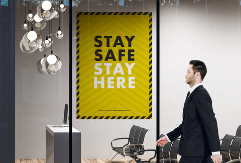 Posters - Stay Safe Stay Here 2