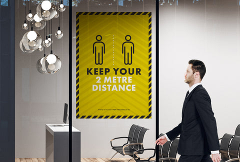 Posters - Keep Your 2m Distance