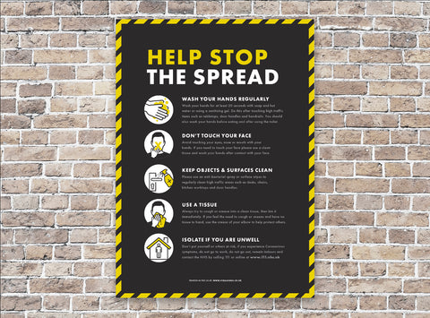 Posters - Help Stop the Spread