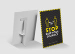 Strut Cards - Stop Keep Your Distance