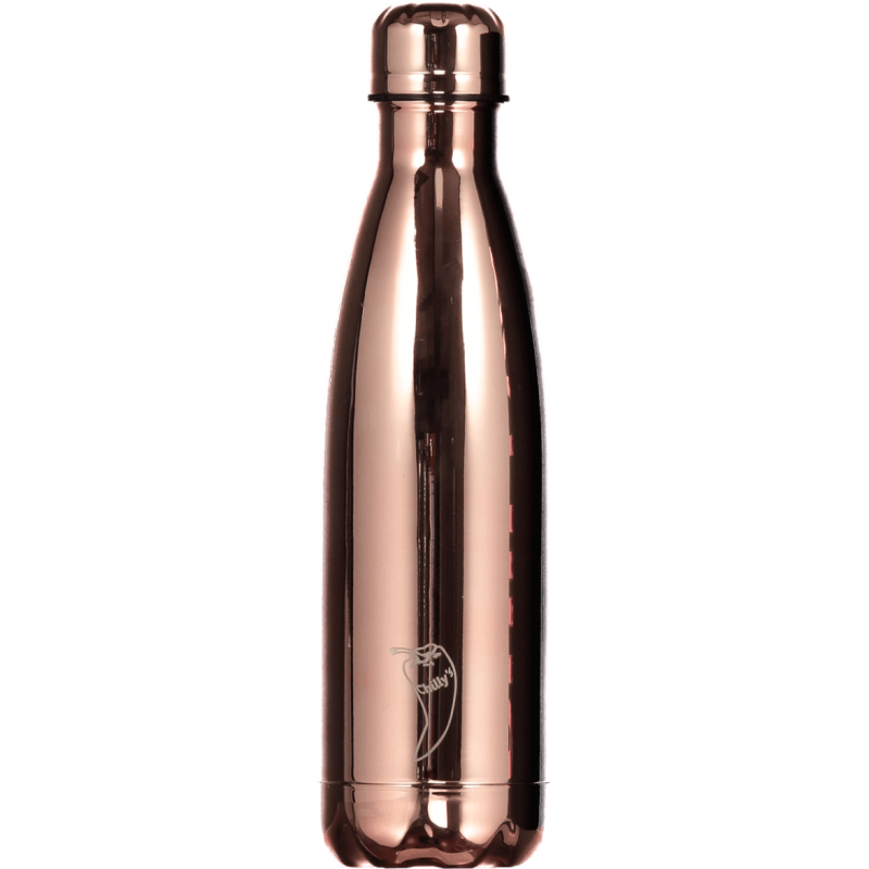borraccia-chrome-rose-gold-500ml-chilly-s-bottle