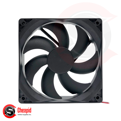 120mm Black Cooler Case Fan