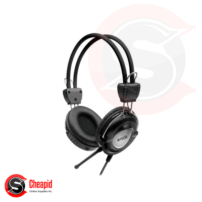 A4Tech HS-19 Black ComfortFit Stereo Headset